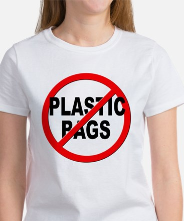 Anti / No Plastic Bags Women's T-Shirt