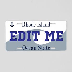 Rhode Island - Ocean State license plate replica