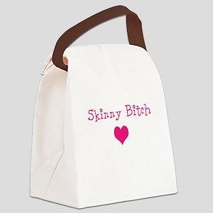 Skinny Bitch Canvas Lunch Bag