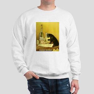 Absinthe Bourgeois Chat Noir Sweatshirt