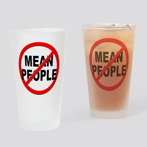 Anti / No Mean People Drinking Glass