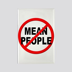 Anti / No Mean People Rectangle Magnet