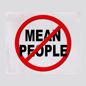 Anti / No Mean People Throw Blanket
