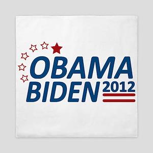 Vote Obama Biden 2012 Queen Duvet