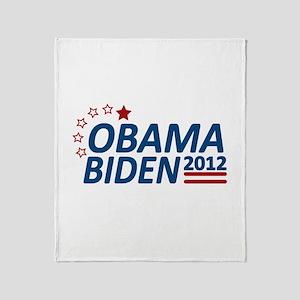 Vote Obama Biden 2012 Throw Blanket