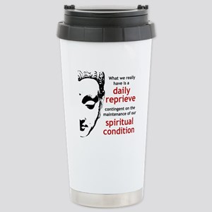 Spiritual Condition Stainless Steel Travel Mug