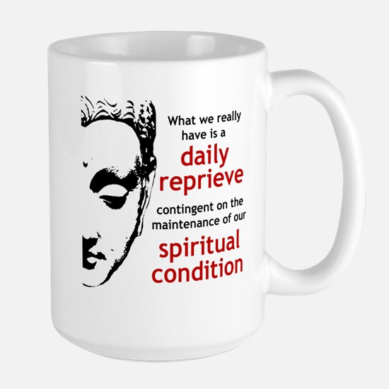 Spiritual Condition Large Mug