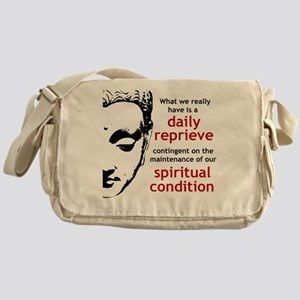 Spiritual Condition Messenger Bag