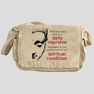 Spiritual Condition Messenger Bag