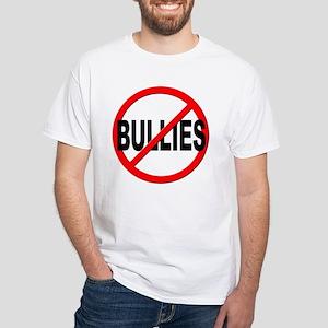Anti / No Bullies White T-Shirt