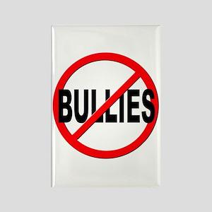 Anti / No Bullies Rectangle Magnet
