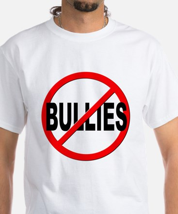 Anti / No Bullies White T-Shirt
