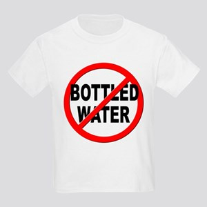 Anti / No Bottled Water Kids Light T-Shirt