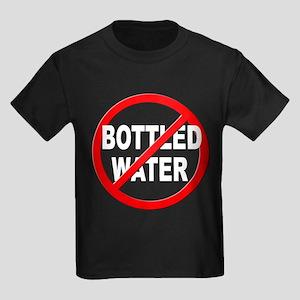 Anti / No Bottled Water Kids Dark T-Shirt