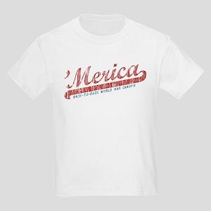 Vintage Team 'Merica 2 Kids Light T-Shirt