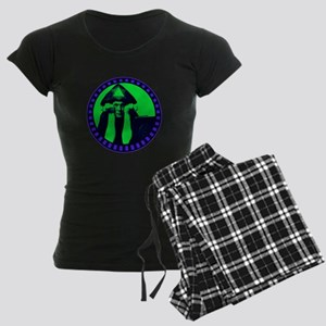 Aleister Crowley Women's Dark Pajamas