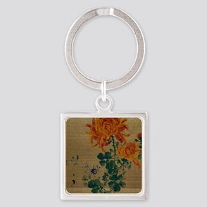 Chrysanthemum - Anon - 1890 Keychains