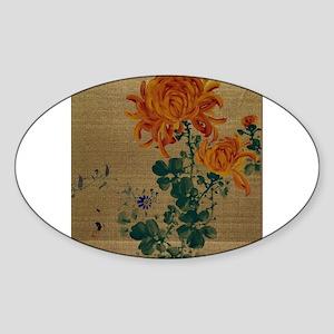 Chrysanthemum - Anon - 1890 Sticker