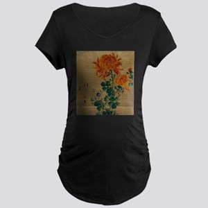 Chrysanthemum - Anon - 1890 Maternity T-Shirt