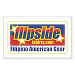 flipsidelogourl Sticker (Rectangle 10 pk)