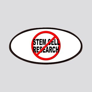 Anti / No Stem Cell Research Patches