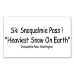 heavy_snow2 Sticker (Rectangle 10 pk)