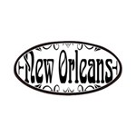New Orleans Wrought Iron Design Patches