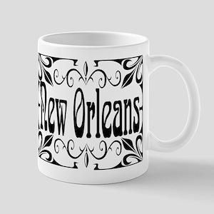New Orleans Wrought Iron Design Mug