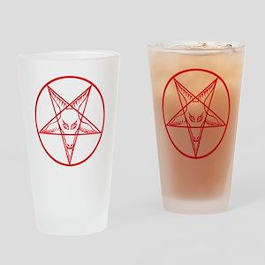 Baphomet Drinking Glass