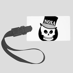 NOLA Skull Tatoo Large Luggage Tag