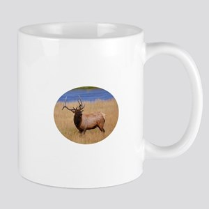 Bull Elk Bugling Mug