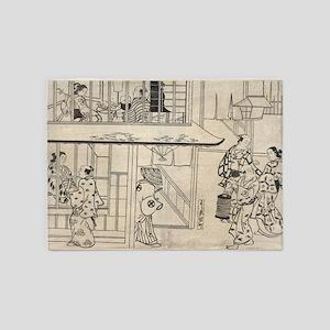Edocho - Shin-Yoshiwara - Masanobu Okumura - 1890