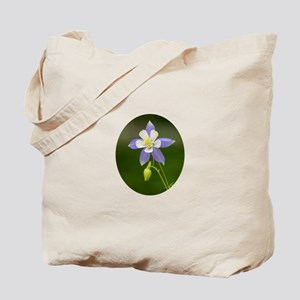 Colorado Columbine Wildflower Tote Bag