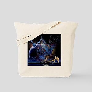 Wizzard & Dragon Tote Bag