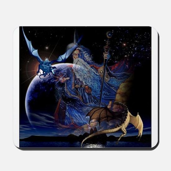 Wizzard & Dragon Mousepad