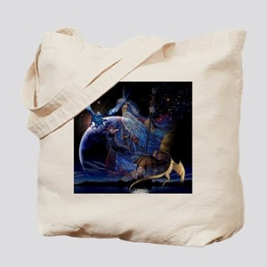Dragons and Wizzards Tote Bag