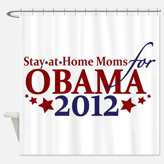 Moms for Obama 2012 Shower Curtain