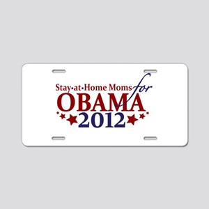 Moms for Obama 2012 Aluminum License Plate