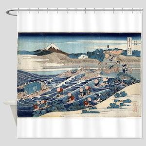 Fuji at Kanaya on the Tokaido - Hokusai Katsushika