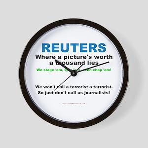Anti- Reuters Wall Clock