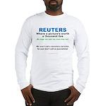 Anti- Reuters Long Sleeve T-Shirt