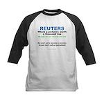 Anti- Reuters Kids Baseball Jersey