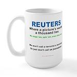 Anti- Reuters Large Mug