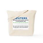 Anti- Reuters Tote Bag