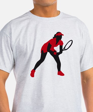 female tennis player T-Shirt