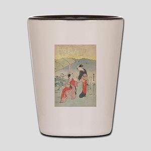 Gathering tea leaves - Harunobu Suzuki - 1770 Shot