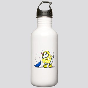 Westie Rainy Day Stainless Water Bottle 1.0L