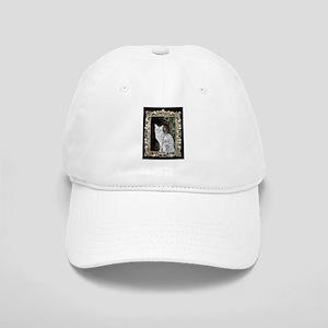 Silver Egyptian Mau Cap