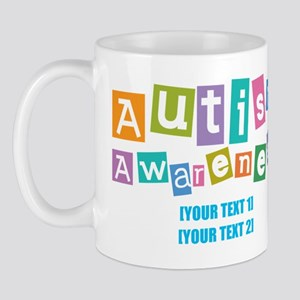 Personalize Autism Awareness Mug