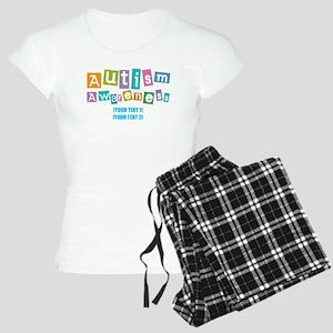 Personalize Autism Awareness Women's Light Pajamas